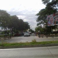 Ruas ao lado da PRACA ROOSEVELT - Catanduva-SP em 15/03/2012 - Defronte ao Cemitério N.S. do Carmo, Катандува