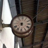 Antigo Relógio - Estação Ferroviária de Marília/SP - Mai/08, Марилия
