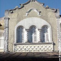 Fachada histórica, prédio localizado na av. Rio BRanco - Marília / SP, Марилия