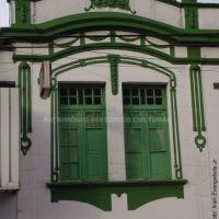 Fachada histórica, prédio na rua 15 de novembro - Marília / SP, Марилия
