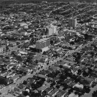 Foto aérea de Marília em 1960, Марилия