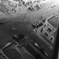 Vista aérea - Av. Sampaio Vidal x Rua 9 de Julho - Década de 30, Марилия