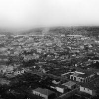 Vista aérea de Marília - Década de 30 (Cruzamento em 1° plano, R. Coronel Galdino x Av. Santo Antonio), Марилия