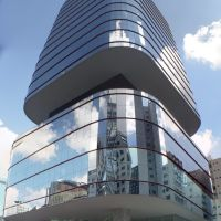 one of São Paulos most famous buildings, Santa Catarina Building (3-07-2010), Рибейрао-Прето