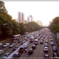 23 de maio - Foto: Fábio Barros  (www.facebook.com/Cidade3d), Сан-Паулу