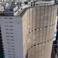 BRASIL Edificio Copan, Oscar Niemeyer, Sao Paulo, Сантос