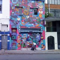 Arte de Rua - Dedicada a amiga Gaucha Silvia Schuma, Сантос