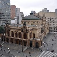 Teatro Municipal de São Paulo, Сантос