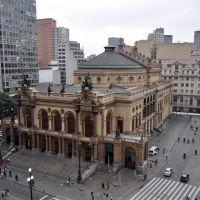 Teatro Municipal de São Paulo, Таубати
