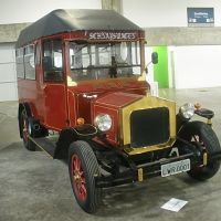 Blumenau - Brasil - Vehículo que se utiliza en Oktoberfest - Villa Germánica - ecm, Блуменау