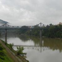 Ponte de Ferro  Blumenau, Блуменау