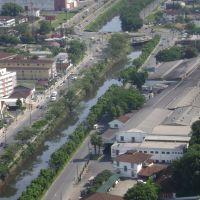 Vista Aérea Rio Cachoeira - Ponte Sobre Max Colin, Жоинвиле
