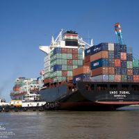 MV UASC Jubail & tugs, Итажаи