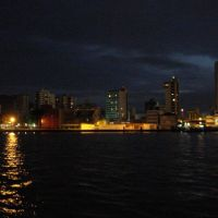 Itajaí by night, Итажаи