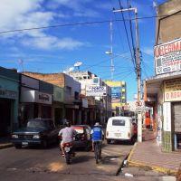 Avenida no Centro de Iguatu - Ceara, Игуату