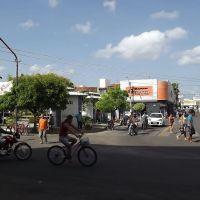 Praça  em frente a Caixa, Игуату