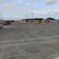 Preparativos para o Iguatu festeiro, 2012, em seu novo local., Игуату