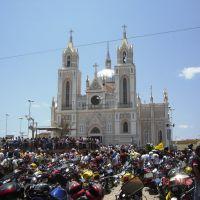 Basílica de São Francisco das Chagas.  Canindé. Romaria de motociclistas., Крато