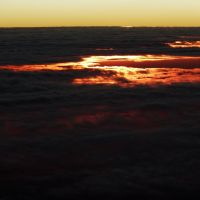 View From the Airplane - Sunset - CE - BR, Крато