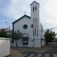 Capela anexa ao antigo Colégio Sobralense, hoje colégio Farias Brito. Sobral, CE., Собраль