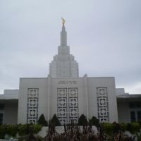 Idaho Falls LDS temple, Айдахо-Фоллс