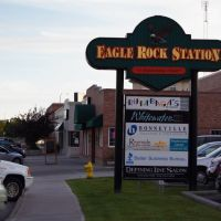 Eagle rock station at Idaho falls, Айдахо-Фоллс