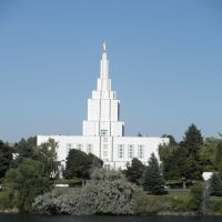 Idaho Temple in Idaho Falls, Айдахо-Фоллс