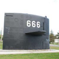 sail of uss hawkbill (ssn-666), Арко