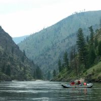 Rafting the Salmon River, Барли