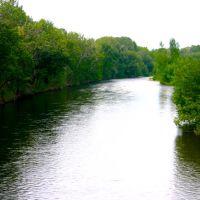 Boise River, Julie Davis Park, Downtown Boise, Idaho, Бойсе