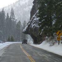 Angry Bear Rock, Hwy ID-14, Левистон