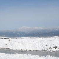 US 95 in winter, Маунтейн-Хоум