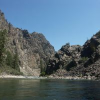 Rafting the Middle Fork, Маунтейн-Хоум