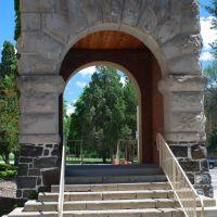 swanson hall arch, Покателло