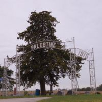 Palestine Cemetary Gate, Аллеман