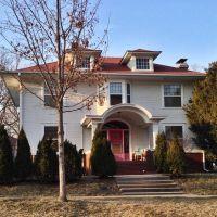 Historic Emma J. Harvat & Mary Stach House - Iowa City, Iowa, Асбури