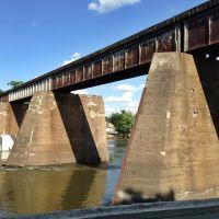 Iowa River Railroad Bridge, Асбури