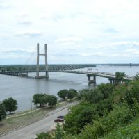Cable-Stayed Mississippi River Bridge - July 2013, Барлингтон