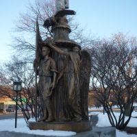 War Memorial Statue, Беттендорф
