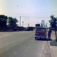 1948 approach to the Memorial Bridge, Беттендорф