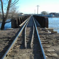 Ex- Chicago Great Western Railroad bridge, Ватерлоо