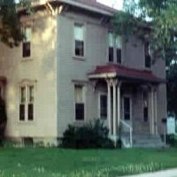 lost Italianate frame house Waterloo, Iowa, Ватерлоо