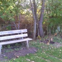 High Trestle Trail Bench 10, Вудвард