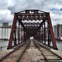 Chicago & Northwestern Railroad Through Truss Bridge, Гилбертвилл