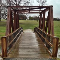 Look Across The Foot Bridge - Noelridge Park Trail - Cedar Rapids, Iowa, Гилбертвилл