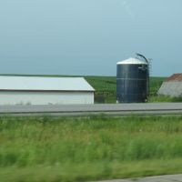 Silo and barns on 365th, Гринфилд