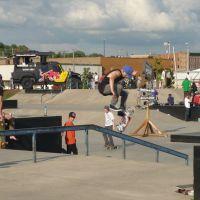 Centennial Skate Park, Давенпорт