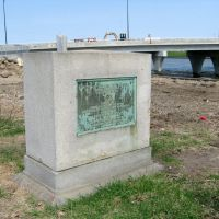 Site of Old Fort Des Moines marker., Де-Мойн