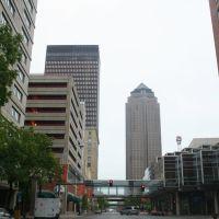 Des Moines, Downtown, Де-Мойн