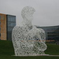"""Des Moines, """"Letter Sculpture"""", Де-Мойн"""